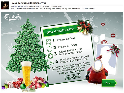 Your Carlsberg Xu0027mas Tree: Will It Be Enough To Send You To Heaven ...