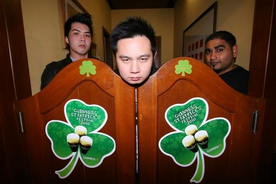 Comedy Club KL's (from left) Kuah Jenhan, Douglas Lim and Kavin Jayaram will bring in the laughs at Guinness(R) St. Patrick's Day